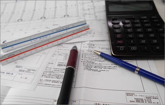 図面や計算書のダブルチェック体制